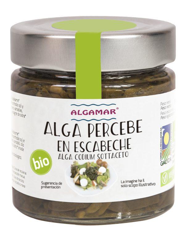 alga percebe en escabeche