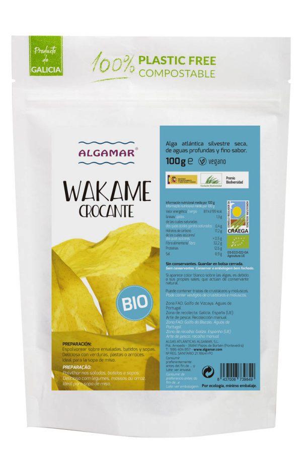 alga wakame crocante